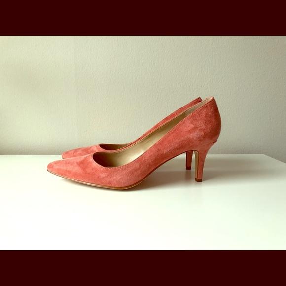 5d2f7827ce5 Ann Taylor Shoes - Ann Taylor Eryn Suede Kitten Heel Pump